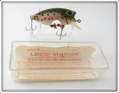 Poe's Rainbow Trout Loco-Motion In Box