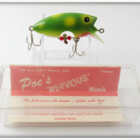 Poe's Frog Loco-Motion In Box