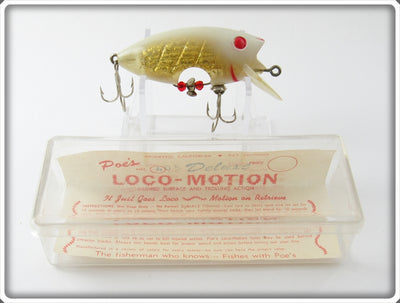 Poe's Ghost Gold Loco-Motion In Box
