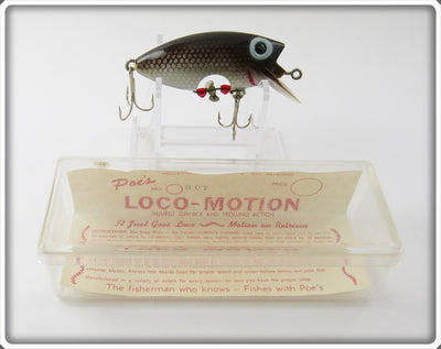 Poe's Brown Shad Loco-Motion In Box