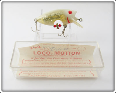 Poe's Ghost Silver Loco-Motion In Box
