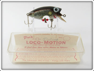 Poe's Anchovy Silver Loco-Motion In Box