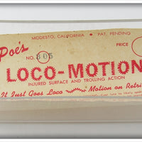 Poe's Ghost Loco-Motion In Box
