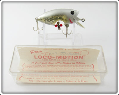 Poe's Silver Loco-Motion In Box