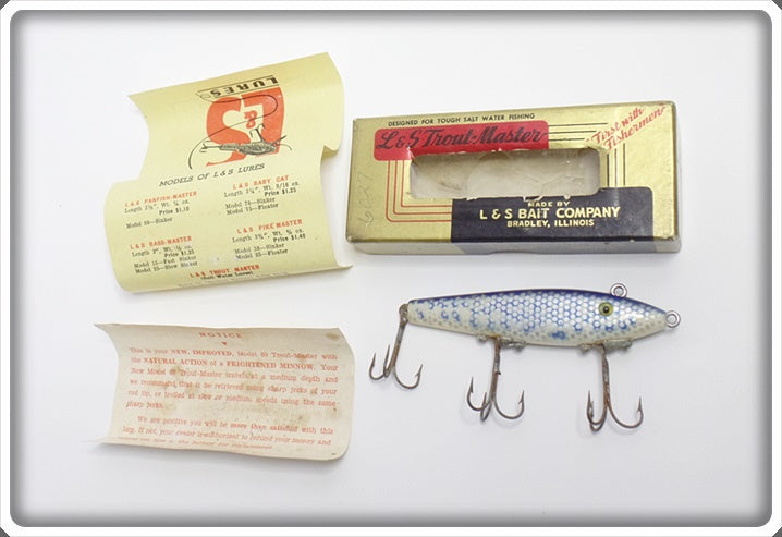 L & S Trout Master In Box With Paperwork