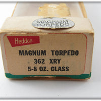 Heddon Yellow Shore Magnum Torpedo In Box