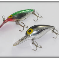 Storm Metallic Silver Wiggle Wart and Green Scale Hot N Tot