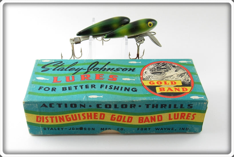 Staley Johnson Frog Spot Twin Minn In Box