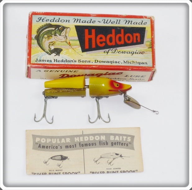 Heddon XRY Scissor Tail In Correct Box