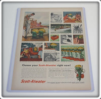 Original 1955 Scott-Atwater Outboard Motor Ad