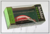 Heddon NFL Chrome Fluorescent Red Rib Tiny Tad Sealed In Box