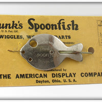 American Display Co Dunk's Spoonfish On Card