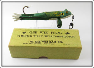 The Gee Wiz Bait Co Gee Wiz Frog In Box