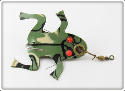 Unknown Green & Black Rubber Frog