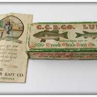 Creek Chub Empty Box For Silver Shiner Wigglefish