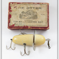 The Otter Top Water Casting Bait In Maroon Box