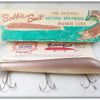 Bobbie Bait Co Muskie Lure In Box