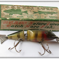 Creek Chub Perch Wigglefish In Correct Box 2401