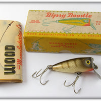 Wood's Mfg Co Perch Dipsy Doodle In Correct Box 505