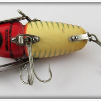 Heddon 2XS Red & White Shore Crazy Crawler