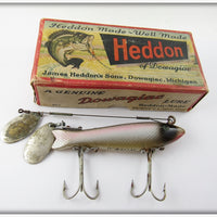 Heddon Shiner Scale Dowagiac Spook In Correct Box 9100 P