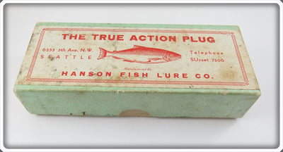 Hanson Empty Box For Silver Salmon Plug