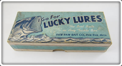 Paw Paw Lucky Lures Empty Box