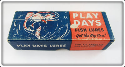 Play Days Shur Strike Trade Empty Box