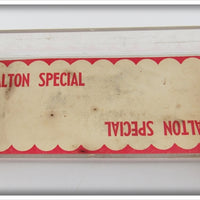 Florida Fishing Tackle Yellow Scale Dalton Special In Box
