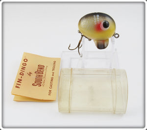 South Bend Yellow Scale Perch Fin Dingo In Tube