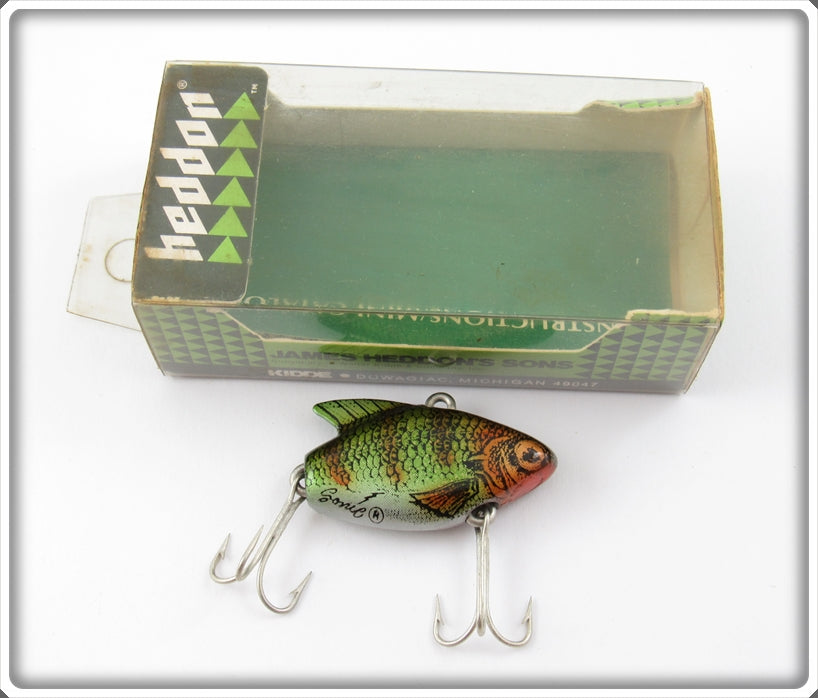 Heddon LC Natural Perch Sonic In Box