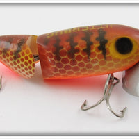 Arbogast Brown Parrot Jointed Jitterbug