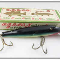 Creek Chub Purple Eel Two Hook Husky Pikie In Box