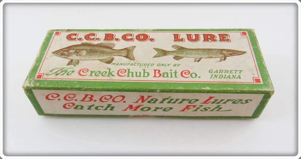 Creek Chub Empty Box For Perch Dingbat 5101