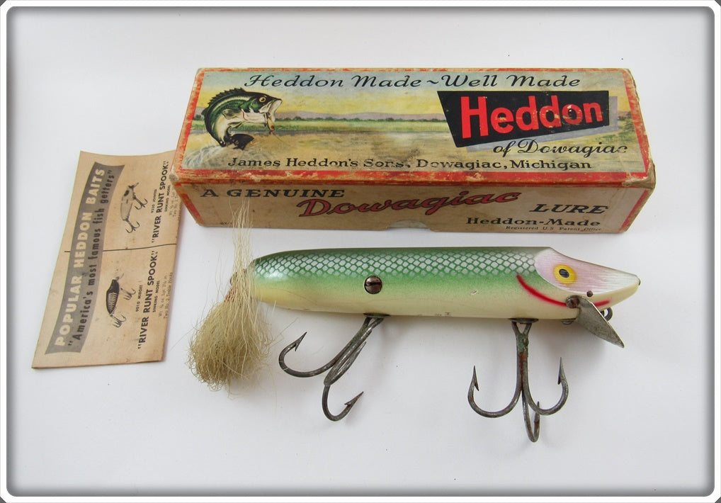 Heddon Shad Giant Vamp In Correct Box 7550 SD