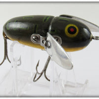 Heddon Bullfrog Crazy Crawler In Correct Box 2120 BF