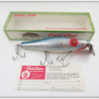 Creek Chub Blue Flash Husky Surfster In Correct Box 7334