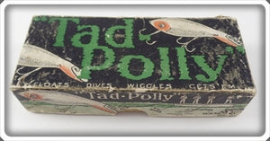 Vintage Heddon Tad Polly Intro Box For Tadpolly Lure 5009D