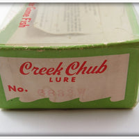 Creek Chub Black Scale Jointed Striper Pikie In Box
