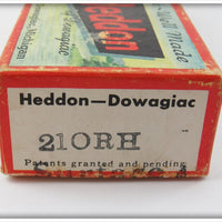 Heddon White Red Head 210 Surface In Box