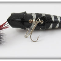Buckeye Bait Corp Black With Silver Rib Bug N Bass