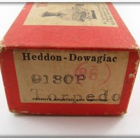 Heddon Zinc Eye Shiner Scale Torpedo Spook In Correct Box 9130 P
