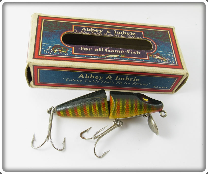 Vintage Abbey & Imbrie Go Getter Lure In Box