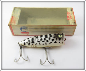 Vintage Heddon CD White Coachdog Chugger Spook Lure 9540 CD