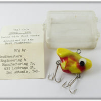 Vintage Semco Schoolmaster Lure In Box