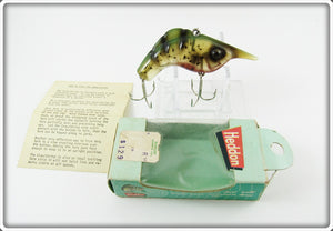 Heddon Amber Green Craw Shrimp In Correct Box
