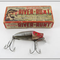 Heddon Silver Shore Early River Runt Spook Sinker In Correct Box 9119XRS