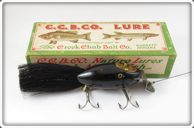Creek Chub Solid Black Dinger In Box