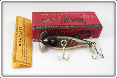 Michigan Lakes Tackle Co Michigan Fin Wing Reed Bird In Box