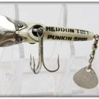 Heddon Yellow Pearl Tiny Punkin Spin
